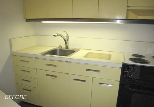 Remodeling kitchens and bathrooms